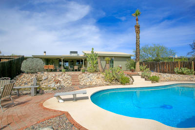 Tucson Single Family Home Active Contingent: 2641 W Positano Way