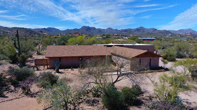 Tucson Single Family Home For Sale: 4015 W Ironwood Hill Drive