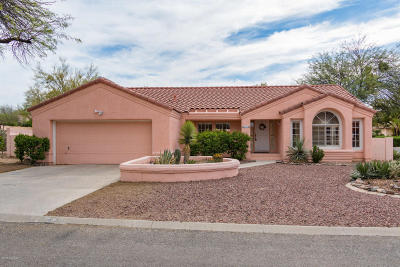 Tucson Single Family Home Active Contingent: 3450 W Pepperwood Loop