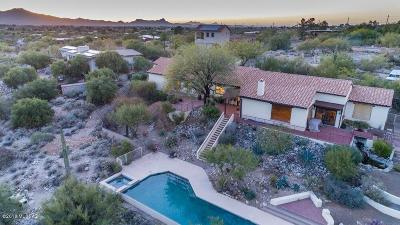 Tucson Single Family Home For Sale: 7040 N Camino De Fray Marcos