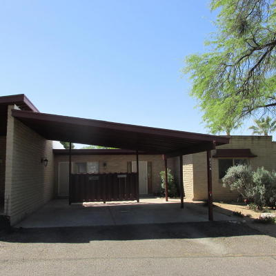 Pima County Townhouse Active Contingent: 8316 N Mesquite Shadows Drive