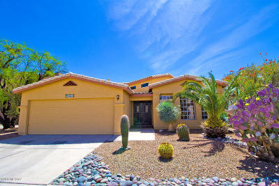 Tucson Single Family Home For Sale: 3371 W Overton Heights Drive