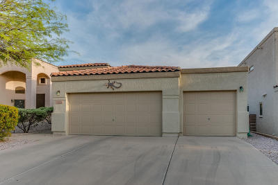 Single Family Home Active Contingent: 10216 E Calle Pueblo Estrella