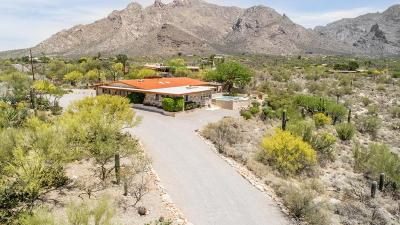 Pima County, Pinal County Single Family Home For Sale: 7720 N Sendero De Juana