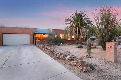 Pima County Single Family Home For Sale: 1928 W Paseo Cuenca