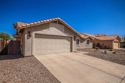 Single Family Home For Sale: 8435 S Via Del Arriero