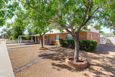 Tucson Single Family Home For Sale: 4809 E 13th Street