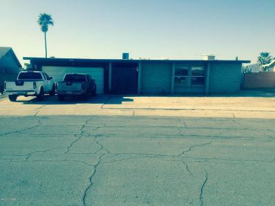 Tucson Single Family Home For Sale: 3461 W Alana Lane
