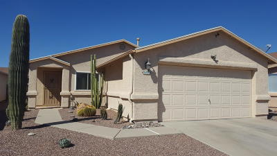 Tucson Single Family Home For Sale: 3436 W Courtney Crossing Lane