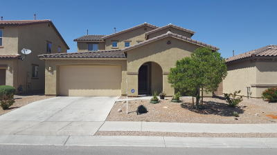Pima County Single Family Home Active Contingent: 11355 E Fleeting Sunset Trail