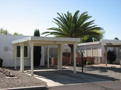 Pima County Townhouse For Sale: 351 N Calle De Las Banderolas