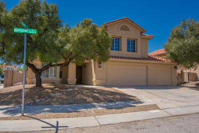 Pima County Single Family Home For Sale: 8060 E Hampton