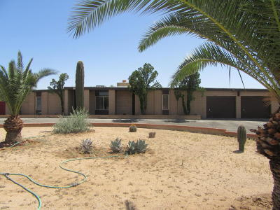 Tucson Single Family Home For Sale: 1741 W Magee Road