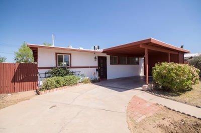 Pima County Single Family Home For Sale: 3749 E 27th Place