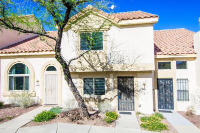 Pima County Townhouse For Sale: 2691 W Avenida Azahar