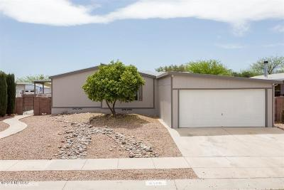 Pima County Manufactured Home For Sale: 6100 E Thunder River Drive