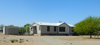 Pima County Manufactured Home For Sale: 16625 W Spur Bell Lane