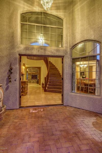 Tucson Single Family Home For Sale: 4510 N Bear Canyon Road