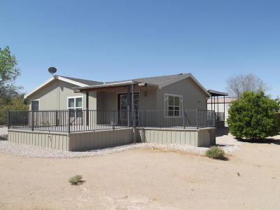 Pima County Manufactured Home For Sale: 7010 N Hot Desert Trail