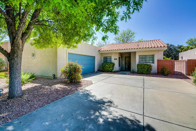 Tucson Single Family Home Active Contingent: 3021 N Willow Creek Drive