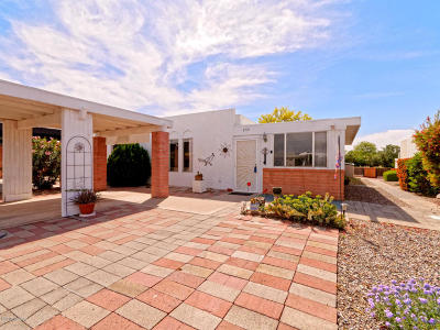 Pima County Townhouse For Sale: 255 N Paseo De Los Conquistadores