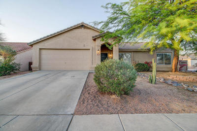 Marana Single Family Home Active Contingent: 5434 W Fresnal Canyon Place