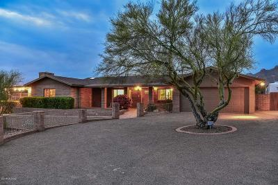 Tucson Single Family Home Active Contingent: 6425 N Calle De Los Seris