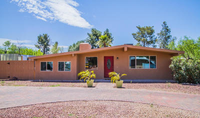 Tucson Single Family Home For Sale: 4448 E Glenn Street