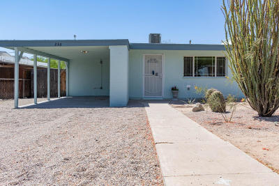 Tucson Single Family Home For Sale: 236 E Waverly Street
