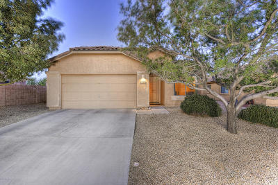 Marana Single Family Home Active Contingent: 14200 N Chaco Journey Avenue