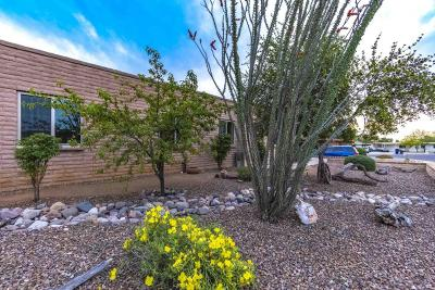 Single Family Home For Sale: 9320 E Pikes Peak Drive