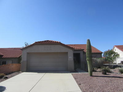 Oro Valley AZ Single Family Home Active Contingent: $227,000