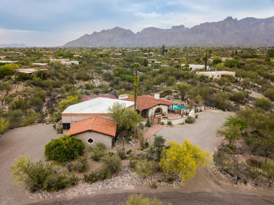 Tucson Single Family Home For Sale: 5101 N Via Entrada