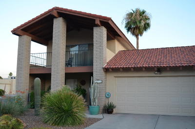 Tucson Townhouse For Sale: 4618 E Camino De Oro