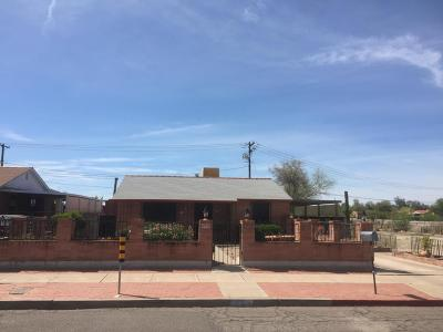 Tucson AZ Single Family Home For Sale: $165,000