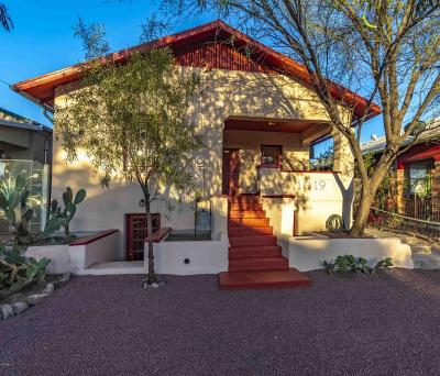 Tucson Single Family Home For Sale: 1019 S 8th Avenue