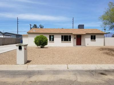 Tucson AZ Single Family Home For Sale: $182,700