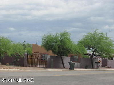 Tucson Single Family Home For Sale: 1517 S Tucson Boulevard