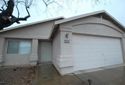 Single Family Home For Sale: 2428 S Saint Pablo Drive