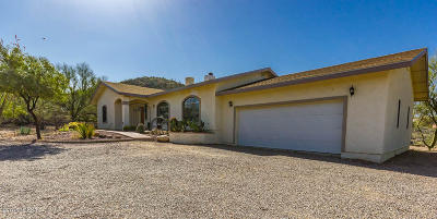 Tucson Single Family Home For Sale: 4155 W Coyote Ridge Trail