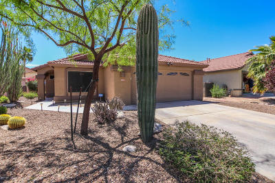 Tucson Single Family Home For Sale: 6945 W Sauceda Drive