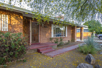 Tucson Single Family Home For Sale: 2120 N Norton Avenue