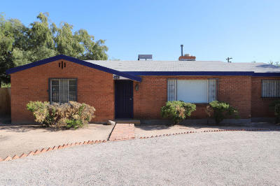 Tucson Single Family Home For Sale: 4122 E Holmes Street