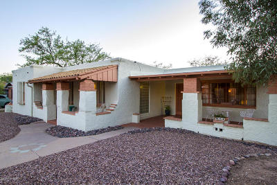 Tucson Single Family Home For Sale: 1021 N 10th Avenue