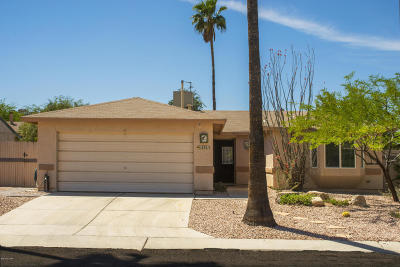 Tucson Single Family Home For Sale: 2551 W Fanbrook Road