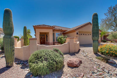 Marana Single Family Home Active Contingent: 13066 N Sunrise Canyon Lane