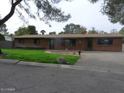 Tucson Single Family Home For Sale: 3433 N Country Club Road