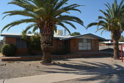 Tucson Single Family Home For Sale: 6834 E New Hampshire Drive