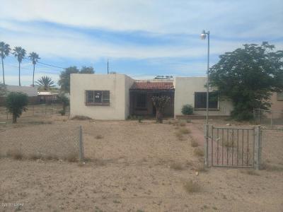 Tucson AZ Single Family Home For Sale: $69,900