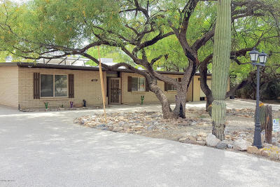 Tucson Single Family Home For Sale: 9450 E Vallarta Drive